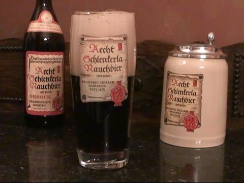 Schlenkerla Smoked Beer / Rauchbier of Bamberg Germany