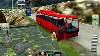 Bus Driver 3D: Hill Station Android Gameplay HD