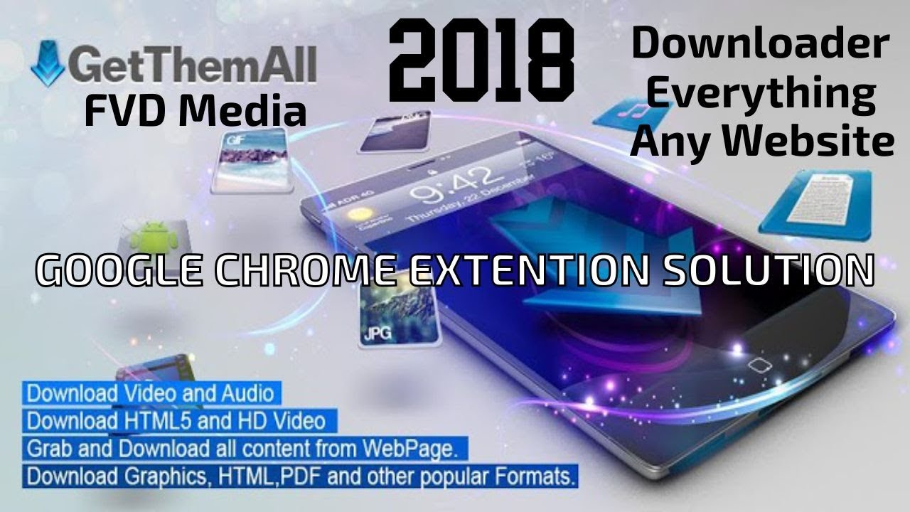 Flash video Downloader,fvd media,Get them all, Download Everything any  website Easily 2018 New Trick