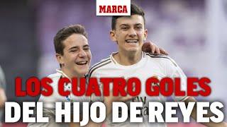 LaLiga Promises 2019: los cuatro goles del hijo de José Antonio Reyes en la final I MARCA