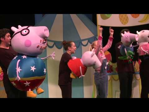 PEPPA PIG LIVE! BIG SPLASH Australian Tour 2015 - Official