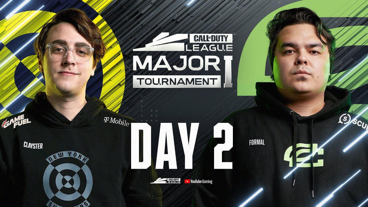 Call Of Duty League 2021 Season | Stage I Major | Day 2