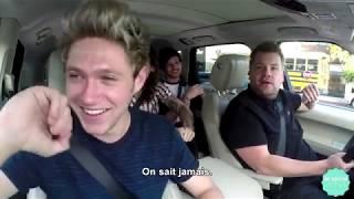 One Direction Carpool Karaoke Part 1  | VOSTFR Traduction Française