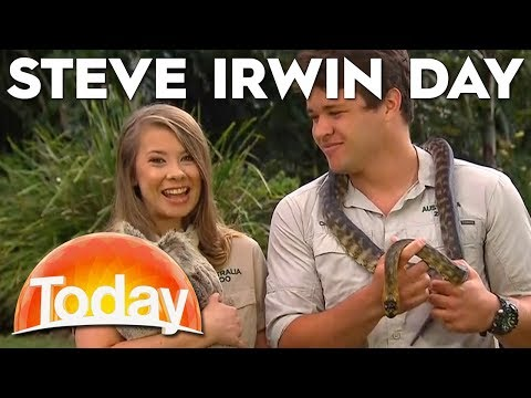Bindi Irwin Celebrates Steve Irwin Day  TODAY  Australia