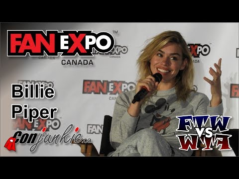 Billie Piper   eXpo Canada 2017  Full Panel