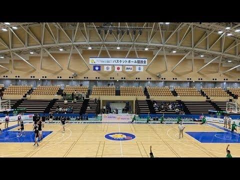 福岡県vs宮城県 高校バスケ 茨城国体少年男子決勝