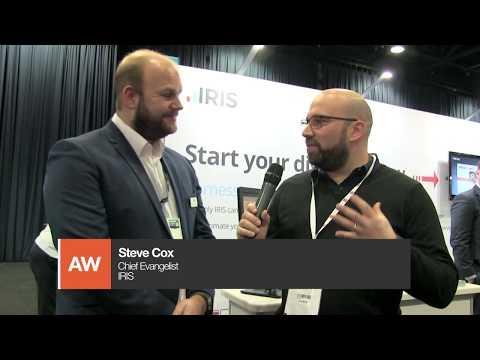 Accountex North 2018: Tom Herbert interviews Steve Cox from IRIS