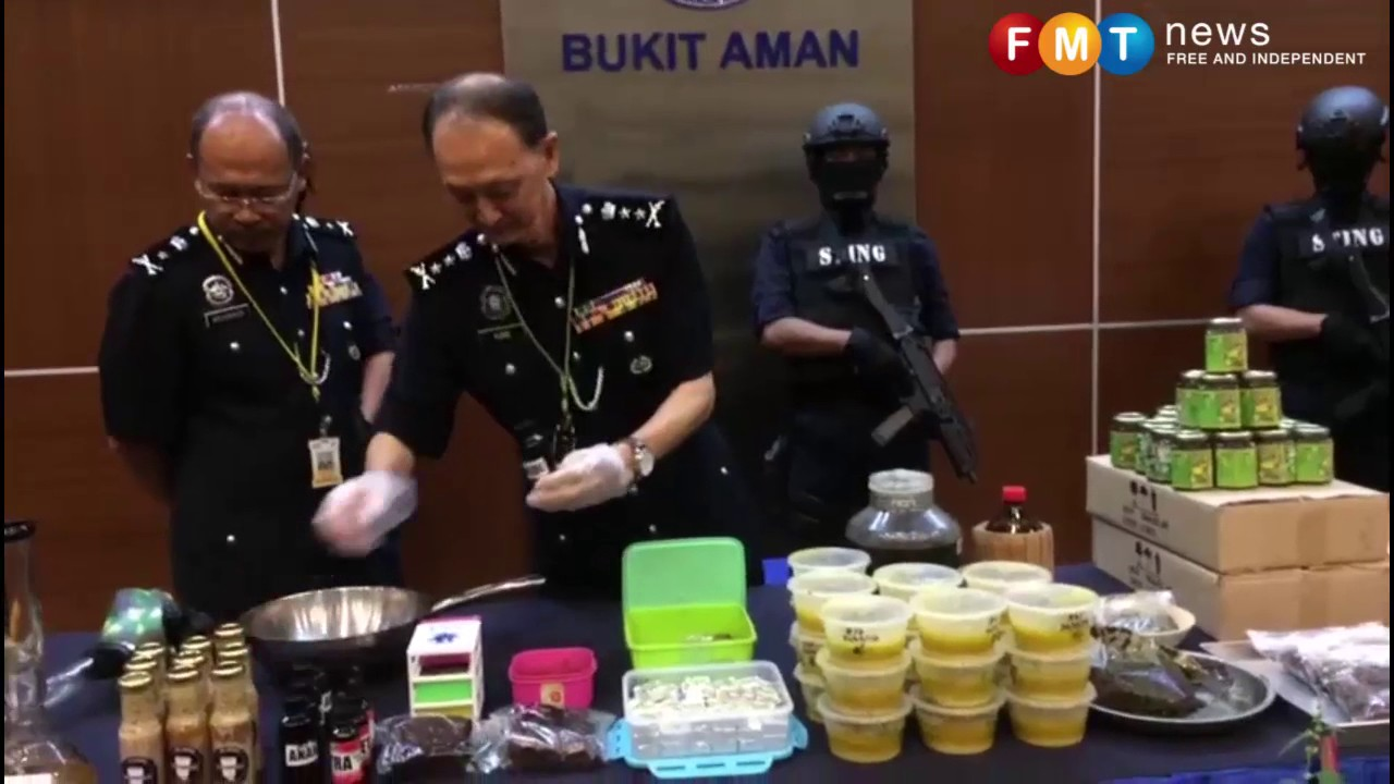 Download Polis tumpas trio 'Dr Ganja' jual 'kek' online