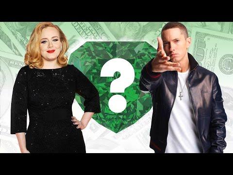 WHO'S RICHER? - Adele or Eminem? - Net Worth Revealed! (2016)