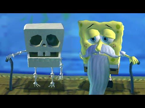 SpongeBob's Truth or Square All Idle Animations (Wii, X360, PSP)