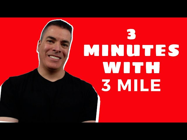 Welcome To 3 Minutes with 3 Mile Storage!