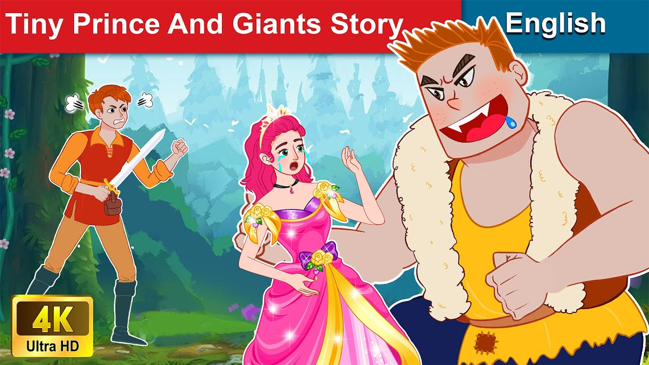 Tiny Prince and Giants Story 🤴 Story in English | Stories For Teenagers | WOA Fairy Tales