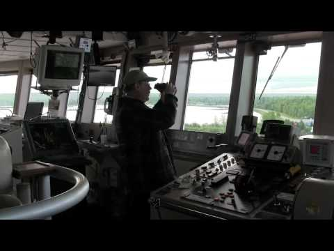Paul R Tregurtha downbound from the bridge - Great Lakes Freighter