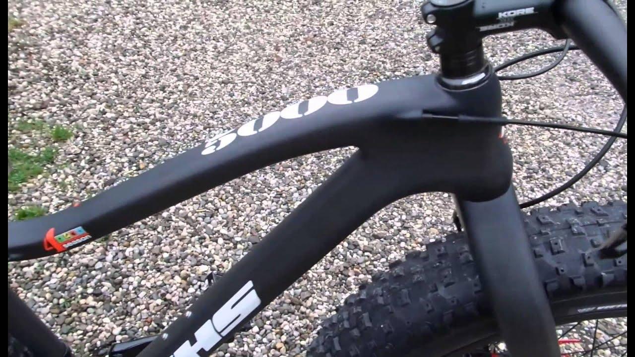 Fat bike, khs 5000 carbon, new khs, nuova khs - YouTube