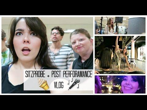 Sitzprobe + Post-Performance Vlog   EVITA