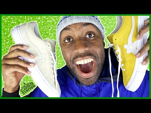 2 of Tyler The Creators Sneakers   CONVERSE GOLF LE FLEUR SUEDE LOW TOP   Review + On Feet Looks