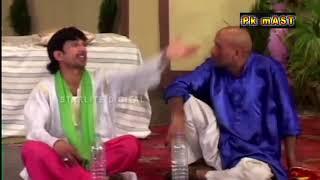 Akram Uddas and Sakhawat Naz best comedy clip Pakistani Stage drama