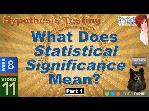 8 11 What Statistical Significance Means