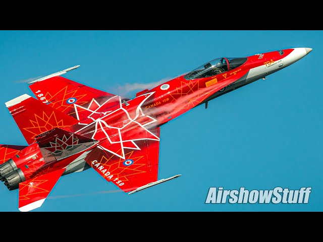 F-18 Demonstrations Of The World - Who Flies It Best?