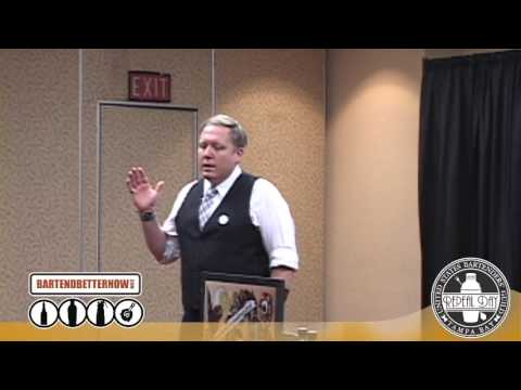 Pyschology of Bartending seminar by Sother Teague