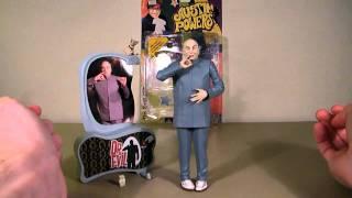 Dr. Evil S.1 Austin Powers Mcfarlane Figure Review HD