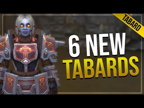 Battle for Azeroth Tabards | Dark Iron, Mag'har Orc, Zandalari Empire & More!