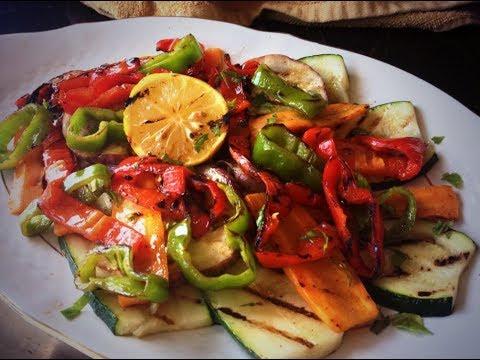Verduras asadas a la parrilla en papel aluminio receta for Parrillada verduras