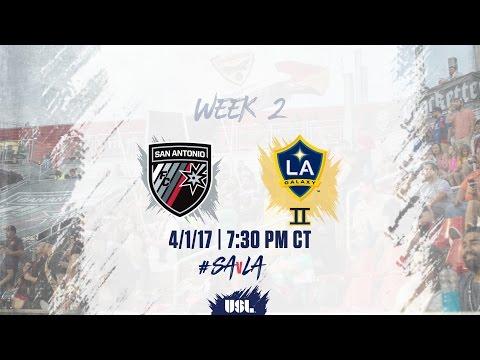 USL LIVE - San Antonio FC vs LA Galaxy II 4/1/17