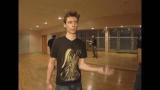 Контактное жонглирование в Москве (Репортаж)(Репортаж телеканала