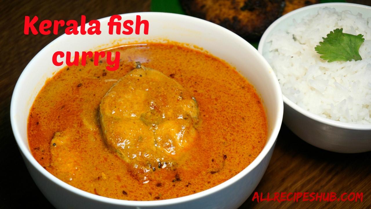 Kerala Fish Curry With Coconut Milk Kerala Fish Curry Recipe Youtube
