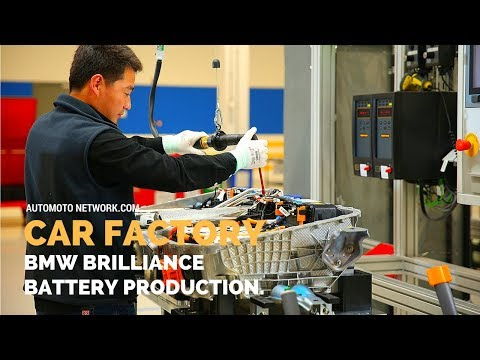 CAR FACTORY | BMW Brilliance Automotive Shenyang, Production of high-voltage batteries.