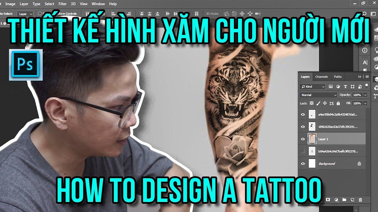 Thiết Kế Hình Xăm Cực Kỳ Đơn Giản Cho Người Mới Bắt Đầu – How To Design A Tattoo – Ngoc Thong Tattoo | Khái quát những tài liệu nói về tự thiết kế hình xăm chữ đúng nhất