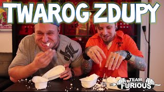 Twaróg (Cottage Cheese) Eating Contest vs Z Dupy | Furious Pete