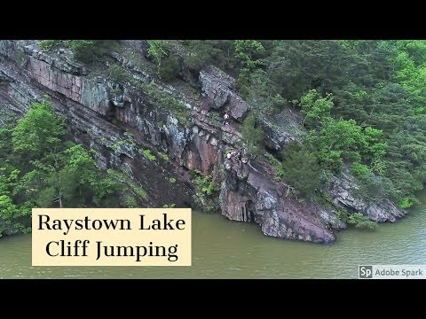RAYSTOWN LAKE CLIFF JUMPING [PA] (+ The Dangers of Cliff Jumping)