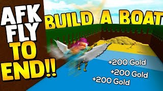 FLY TO TREASURE!! 💰*BEST AFK GLITCH* | Build a boat for Treasure ROBLOX
