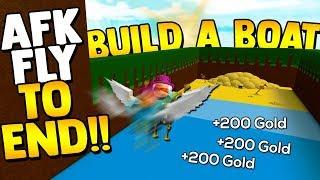 VOE PARA O TESOURO!! 💰 * MELHOR AFK GLITCH * | Construa um barco para Treasure ROBLOX