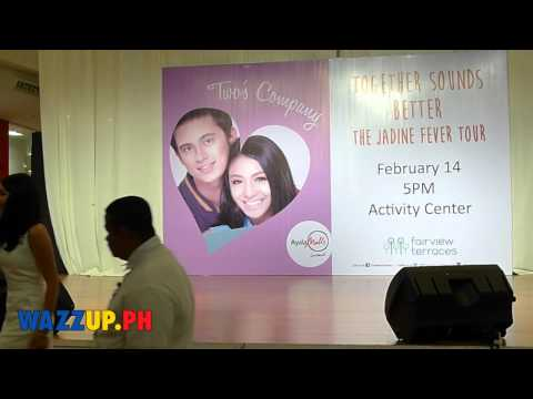 Nadine Lustre in Jadine Fever Tour at Fairview Terraces Part 2 Paraparaan