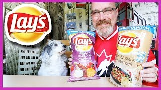 Lays • Win with Flavour • Sizzlin' Szechuan vs Paprika & Sweet Onion