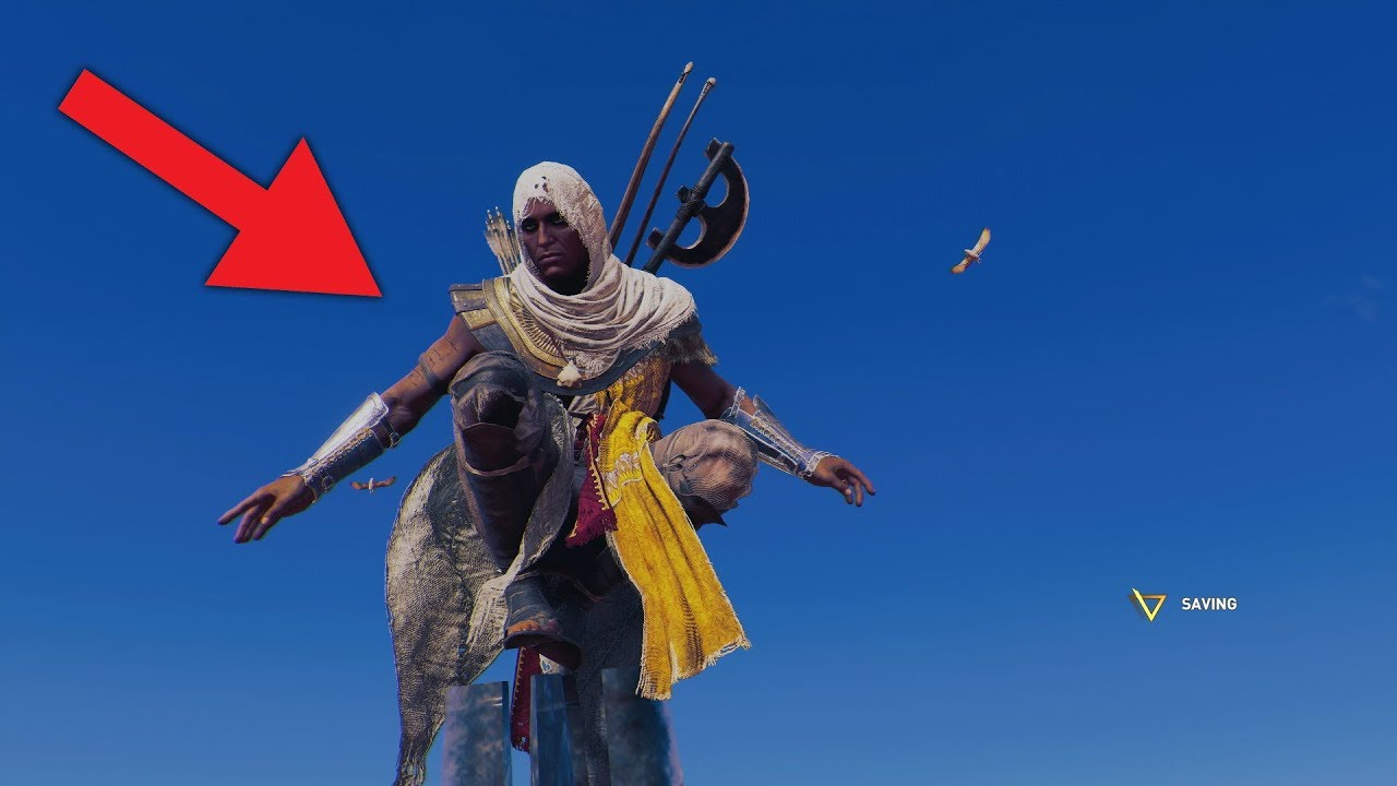 PENETRATOR EKSPLORATOR – Assassin's Creed Origins FUNNY MOMENTS
