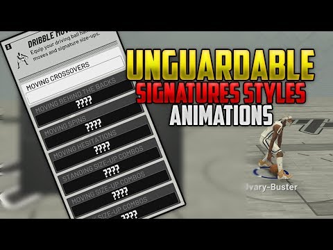 NBA 2K19 BEST SIGNATURE STYLES AND ANIMATIONS FOR ANKLE BREAKERS!!!!