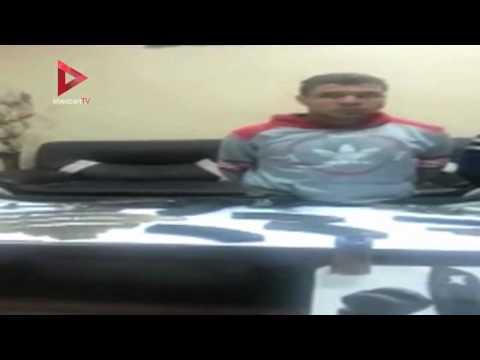 فيديو مسرب من 'الداخلية' لإعترافات ضحية تعذيب قسم المطرية