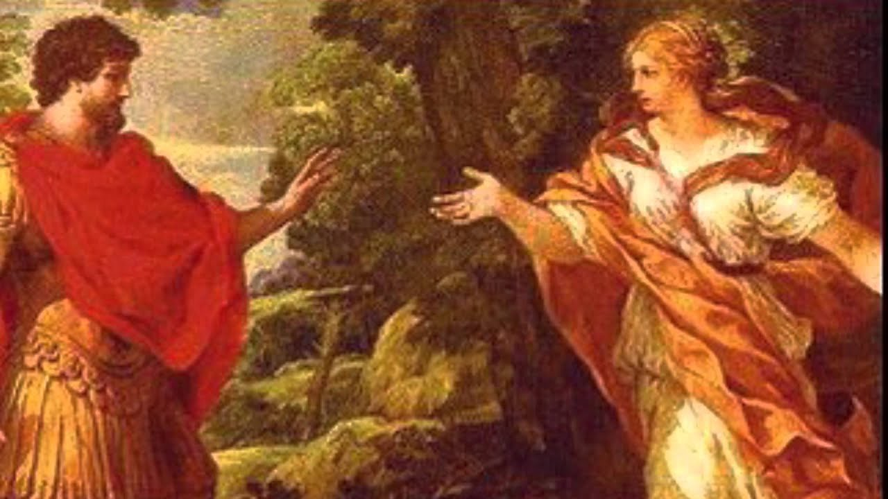 Odysseus And Calypso Painting