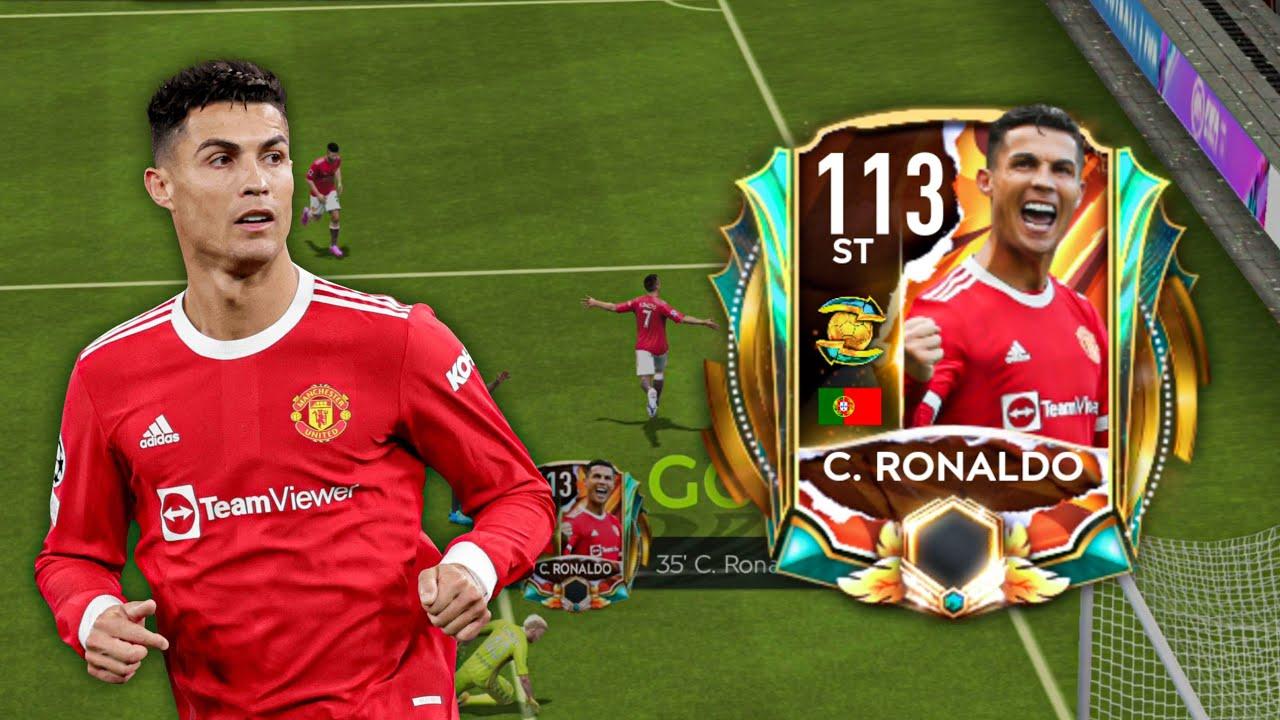 Download CRISTIANO RONALDO 113 RATED REVIEW!!! GOAL SCORING MACHINE!! FIFA MOBILE 21