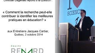 Comment la recherche peut-elle contribuer à identifier les meilleures pratiques en éducation ?