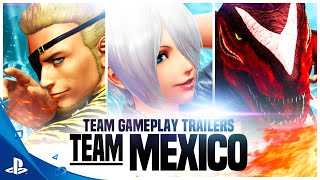 The King of Fighters XIV - Team Mexico Trailer | PS4