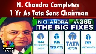 N. Chandrasekaran's One-Year Journey As Tata Sons Chairman | CNBC TV18
