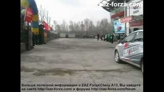 Chery A13 вождение(, 2012-06-20T08:26:29.000Z)