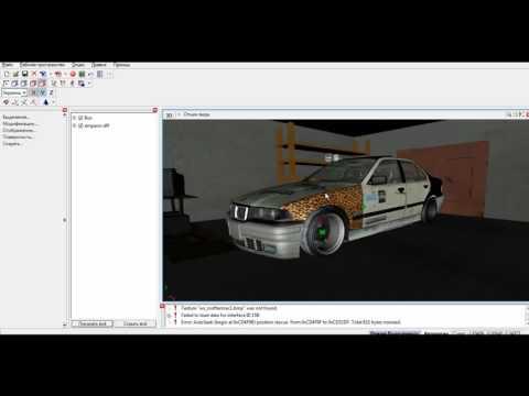Уроки ZModeler | Как делать красивые фото в ZModeler | Гараж для ZModeler смотреть в хорошем качестве