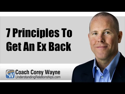 7 principles to get an ex back