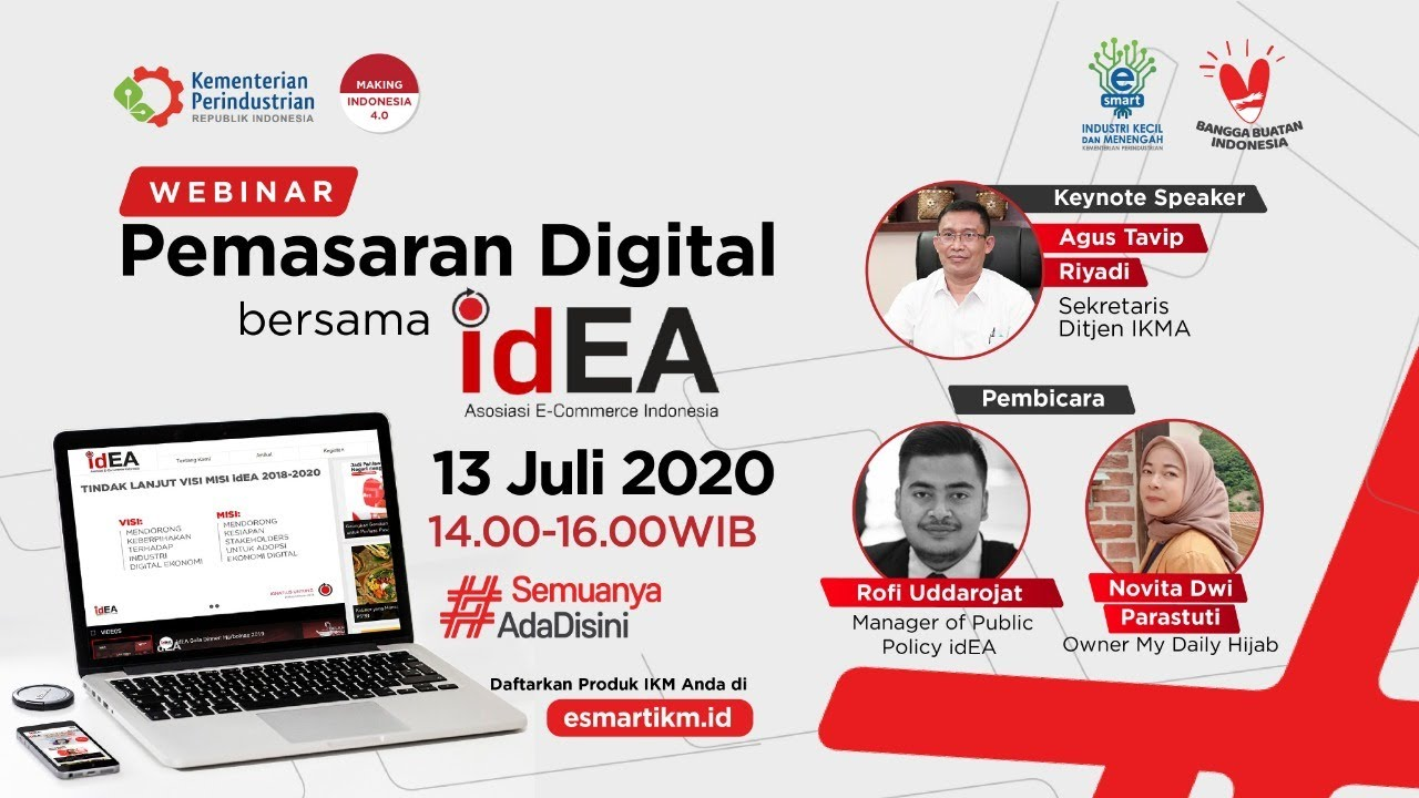 Pemasaran Digital bersama idEA #SemuanyaAdaDisini